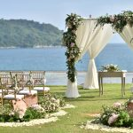 wedding setup venue