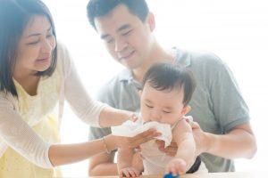 memilih tisu bayi